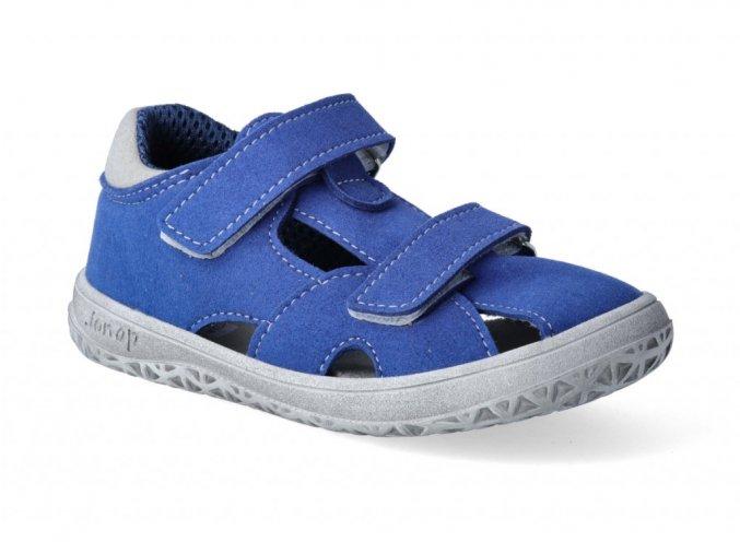 21324 2 barefoot sandalky jonap b8mf modra 3
