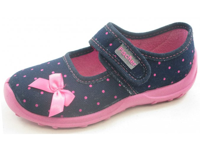 Domácí obuv Fischer 612343-507 blau