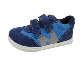 Celoroční obuv Jonap 053S/modrá-tyrkys