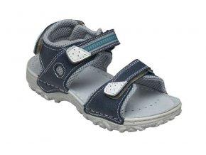 Kožené sandále Santé/modrá