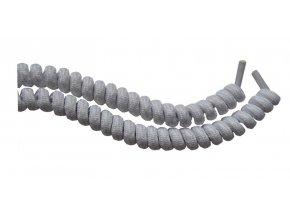 Spirálová tkanička - bílá