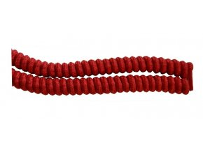 Spirálová tkanička - červená