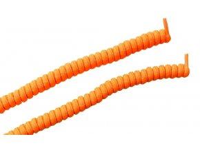 Spirálová tkanička -neonová oranžová