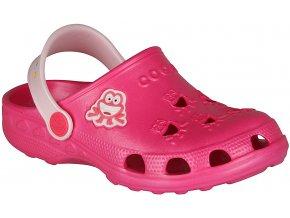 Dívčí sandály Coqui Little Frog