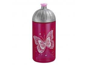 láhev motýl