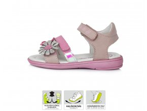 D.D.STEP sandále K03-850B růžová
