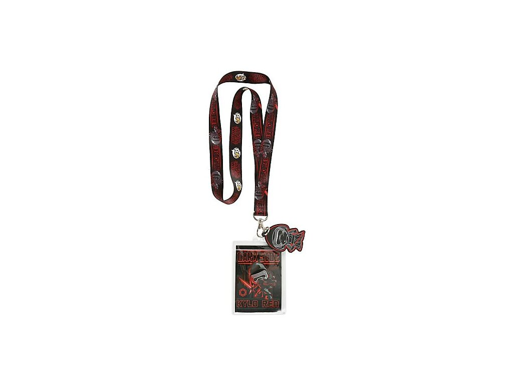 Star Wars Episode VII POP Lanyard with Rubber Kylo Ren