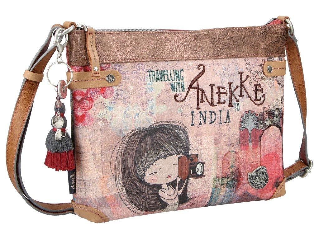 2fa8774e7a Anekke crossbody kabelka z kolekce India - Bag atelier
