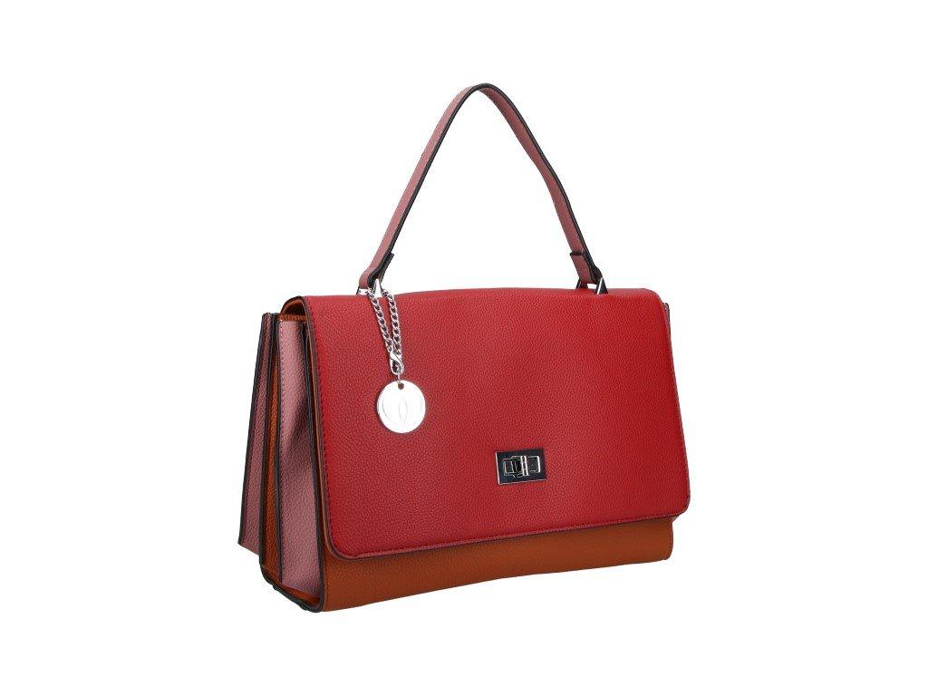 Módní kabelka do ruky Micussi 8420-17 RED