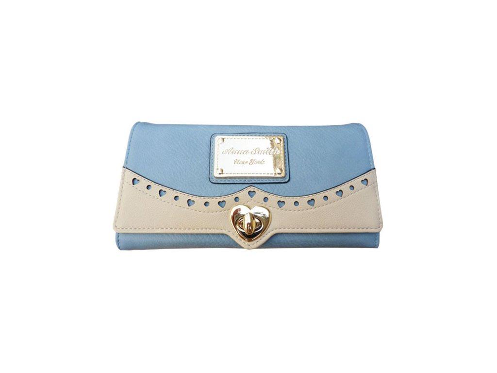Dívčí peněženka Anna Smith modrá