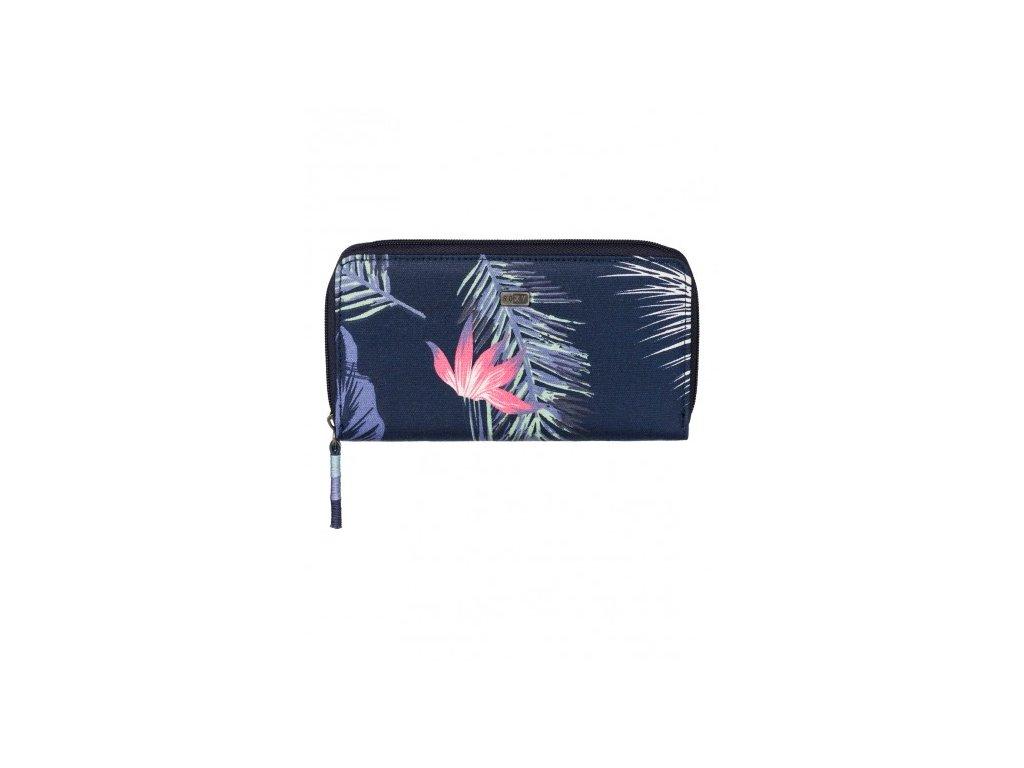 Dámská látková peněženka Roxy Sun Child - S květinami