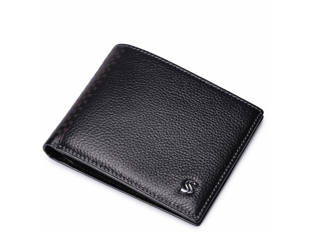 Pánská peněženka malá Sammons černá