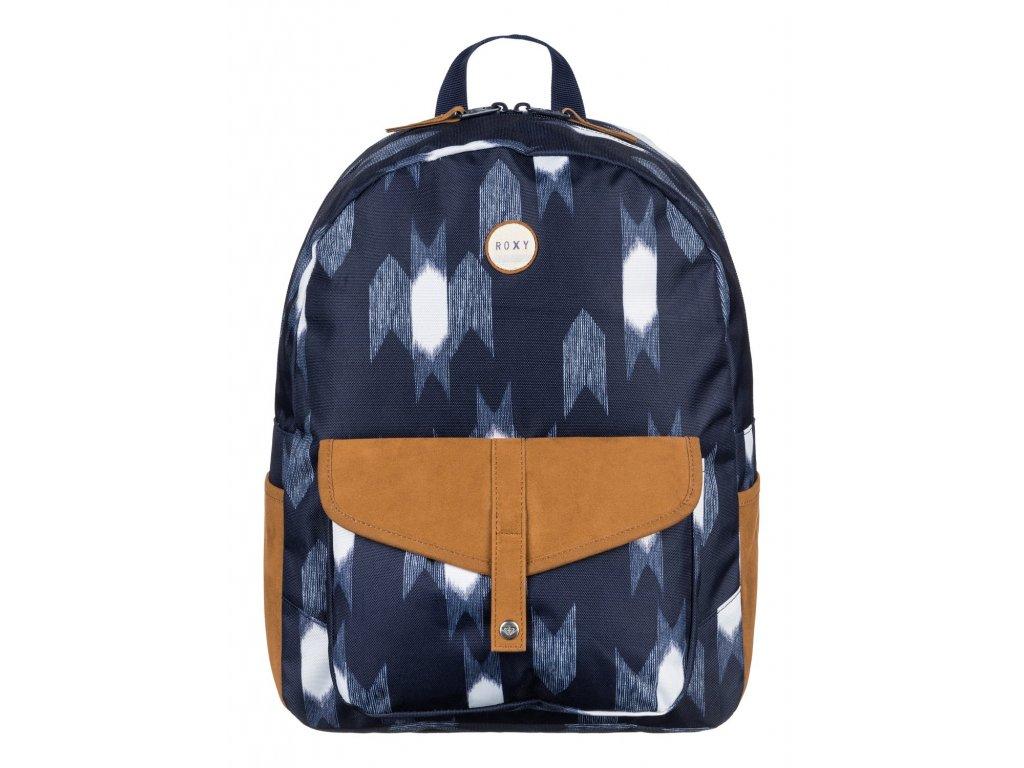Dámský stylový batoh Roxy Carribean - Modrý