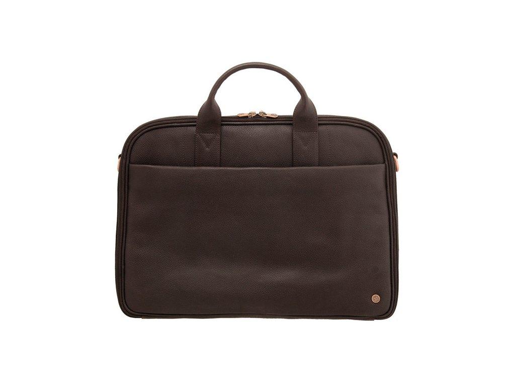 Pánská cestovní kožená business taška 1642 hnědá - Bagisimo.cz 509401521ce