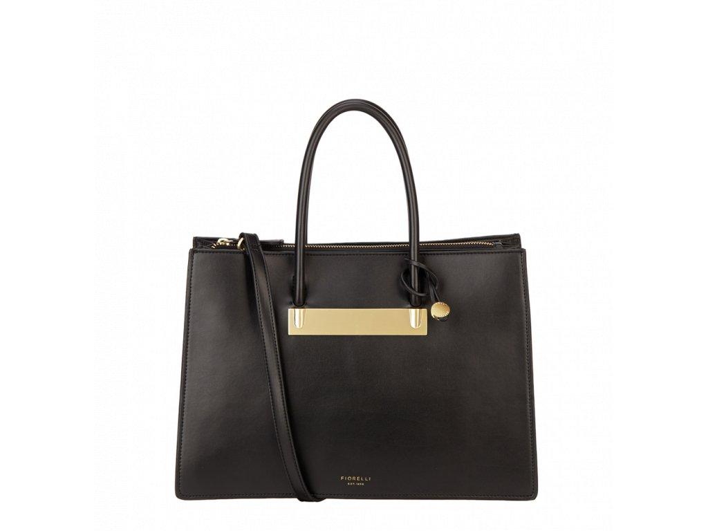Černá kabelka přes rameno Fiorelli - Gold Collection 2cfe21f0955