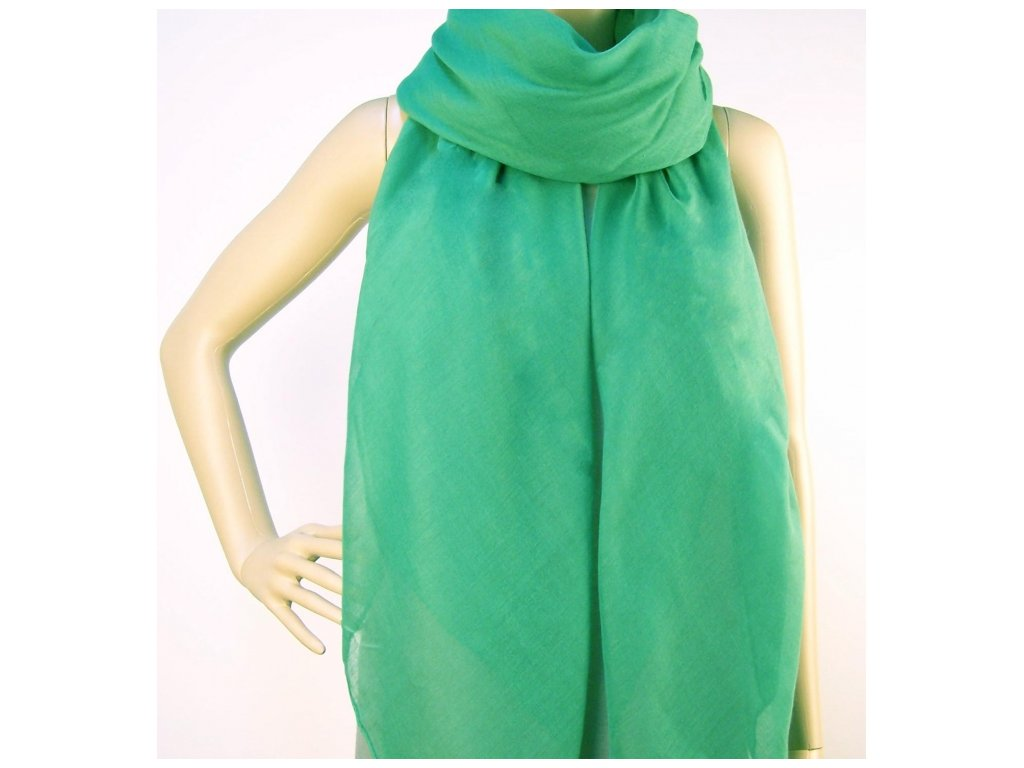 Šátek - zelený