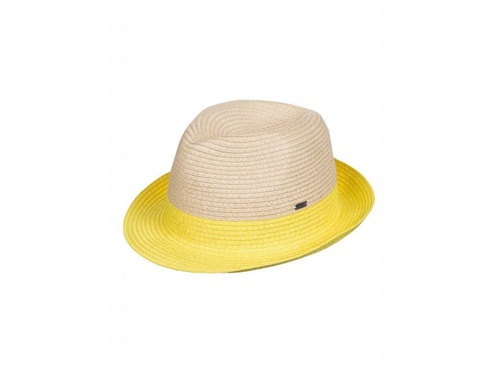 Dámský klobouk Roxy Monoi M/L - Žlutý