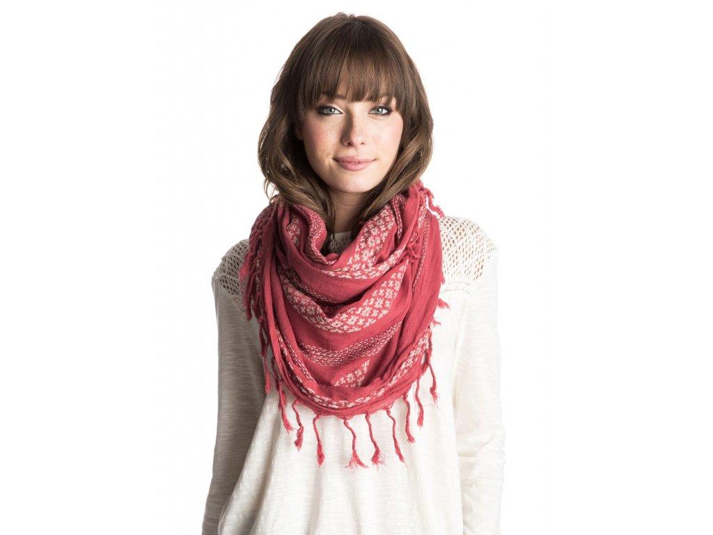 Dámský kruhový šátek Jena Roxy - Červený