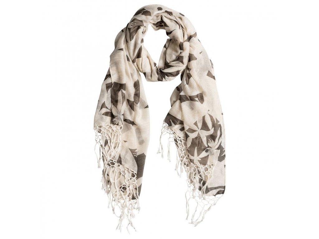 Dámský šátek Giulia Roxy - Béžovo hnědý