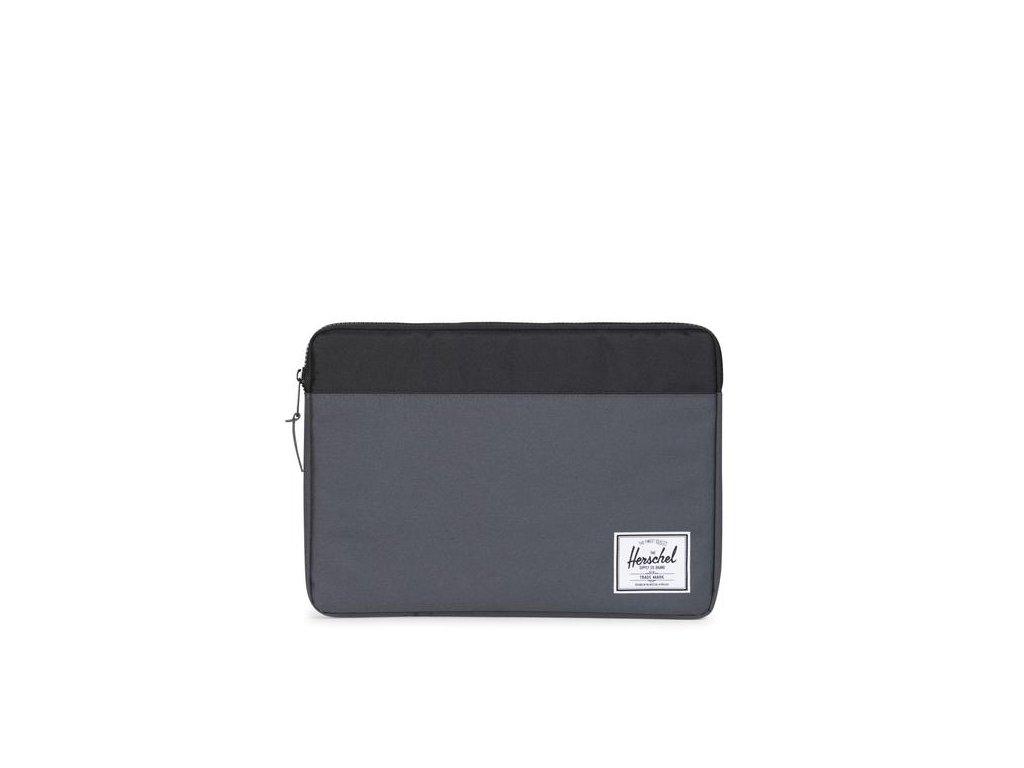 "Pouzdro Herschel Anchor na Macbook 15"" - Tmavě šedý"