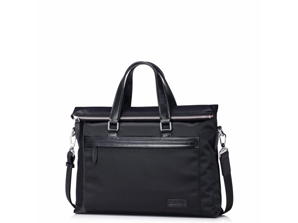 Pánská nylonová taška přes rameno Sammons Highbury - Černá