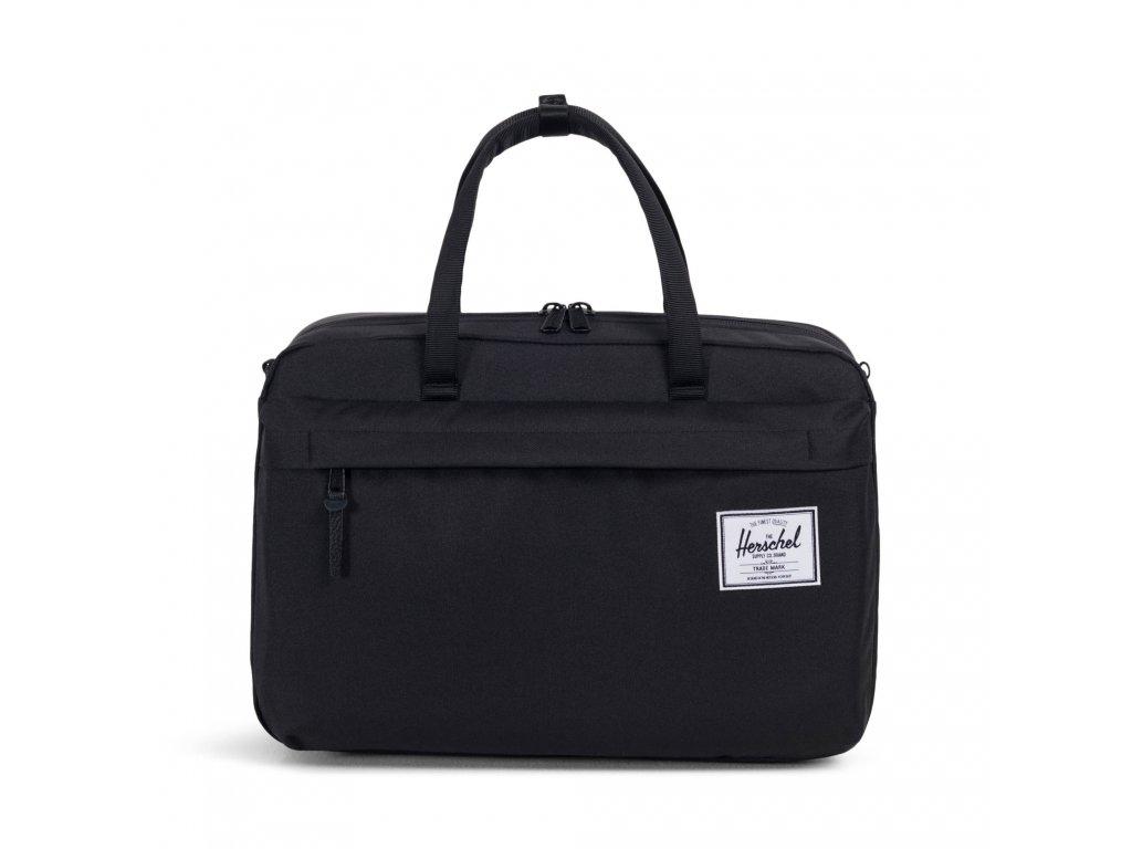Cestovní taška Herschel Bowen S - Black
