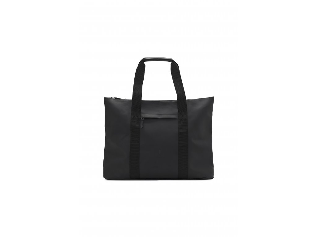 AW18 WEEKEND TOTE BLACK 01
