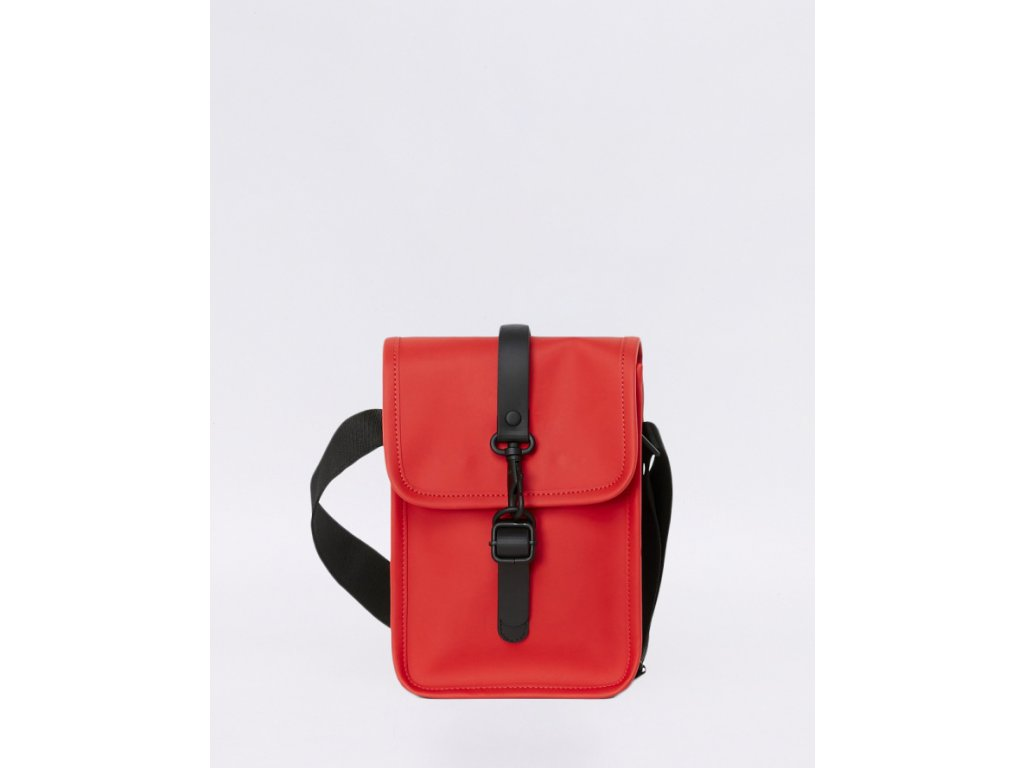 rains flight bag red