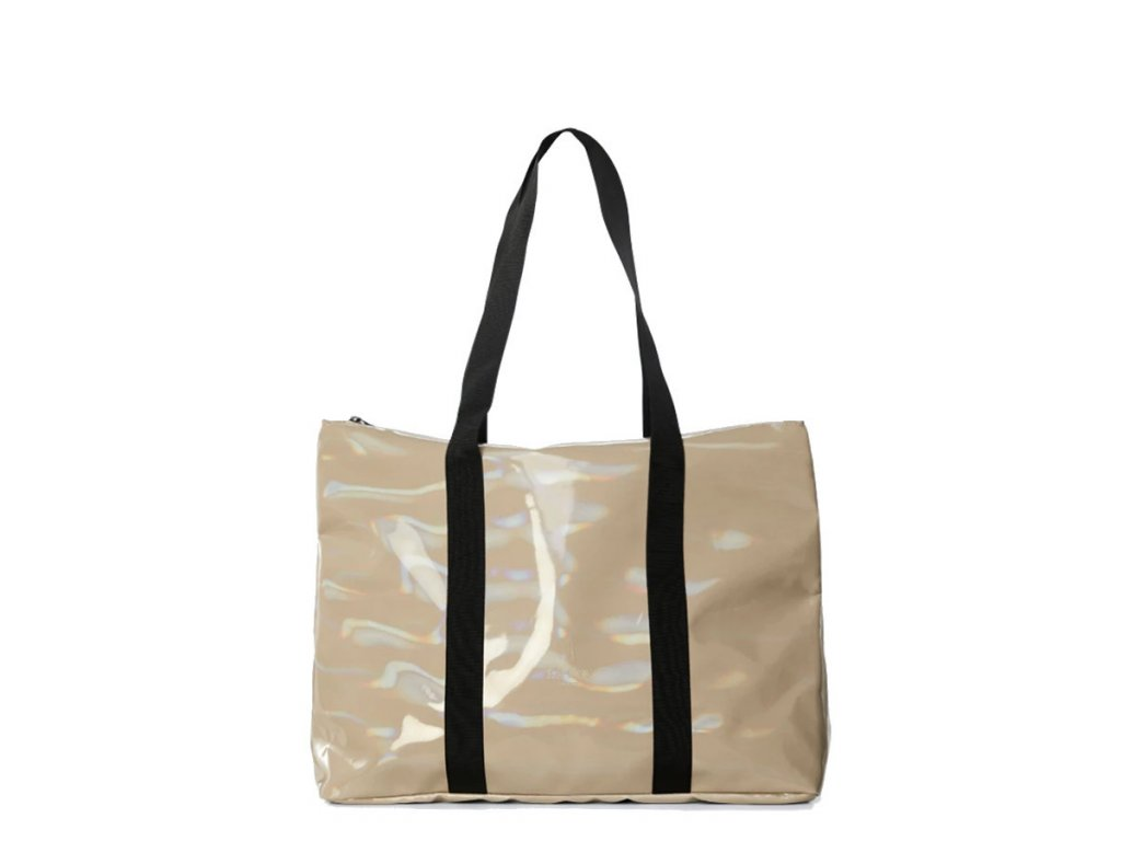 rains holographic city tote