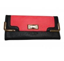 Dámská peněženka DSUK červeno - černá