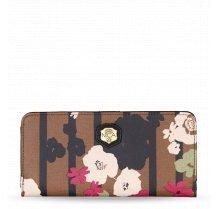 Dámská velká peněženka Nica s květinovým vzorem