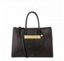 Černá kabelka přes rameno Fiorelli - Gold Collection