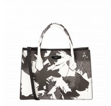 Černobílá kabelka přes rameno Fiorelli - Original Collection
