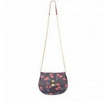 Černá kabelka crossbody s třešněmi FIORELLI - Huxley Collection