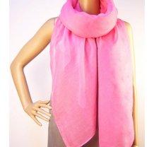 Růžový šátek