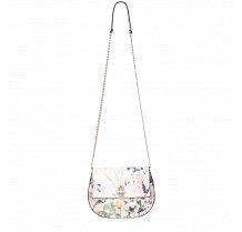Dámská květinová retro kabelka s řetízkem Fiorelli