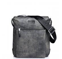Pánská nylonová tašky přes rameno Sammons šedá