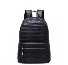 Pánský celokožený batoh Sammons černý