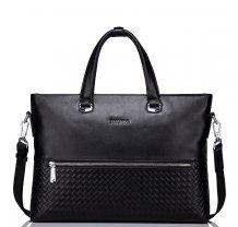 """Pánská elegantní kožená taška Sammons Edinburgh 13"""" černá"""