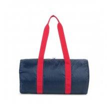Skládací víkendová taška Herschel Packable modro červená