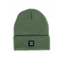 Zimní čepice Herschel Abott zelená army