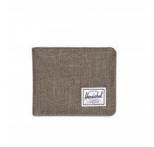 Malá peněženka Herschel Roy šedo béžová