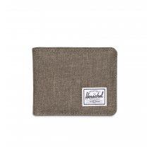 Malá peněženka Herschel Roy + coin béžovo šedá