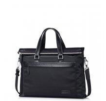 Pánská černá nylonová taška přes rameno Sammons Highbury