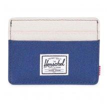 Pouzdro na karty Herschel Charlie modro béžové
