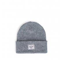 Zimní čepice Herschel Elmer šedo bílá