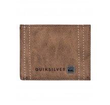 Pánská peněženka Quiksilver Stitchy - hnědá