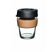 Skleněný Termohrnek KeepCup Brew Filter Cork Medium - černý