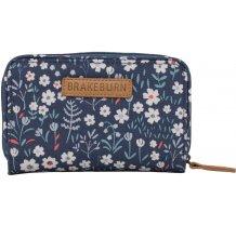 Dámská peněženka s motivem kytiček Brakeburn Flower - modrá