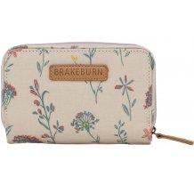 Dámská peněženka s motivem kytiček Brakeburn Meadows - béžová